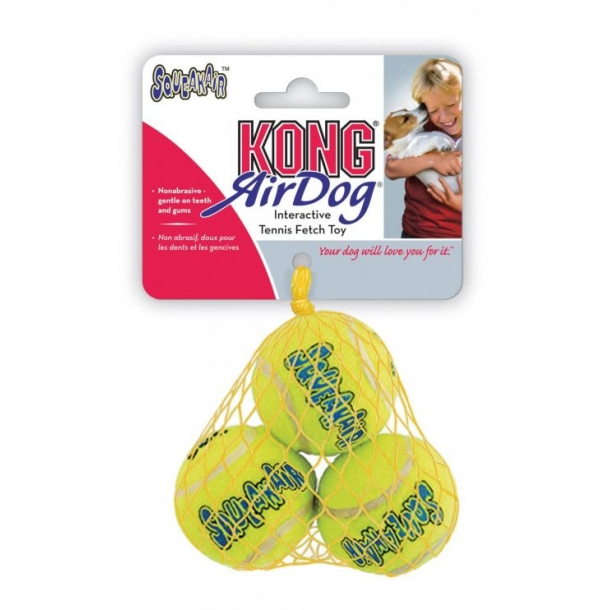 Airkong Squeaker tennis ball Small 3stk.