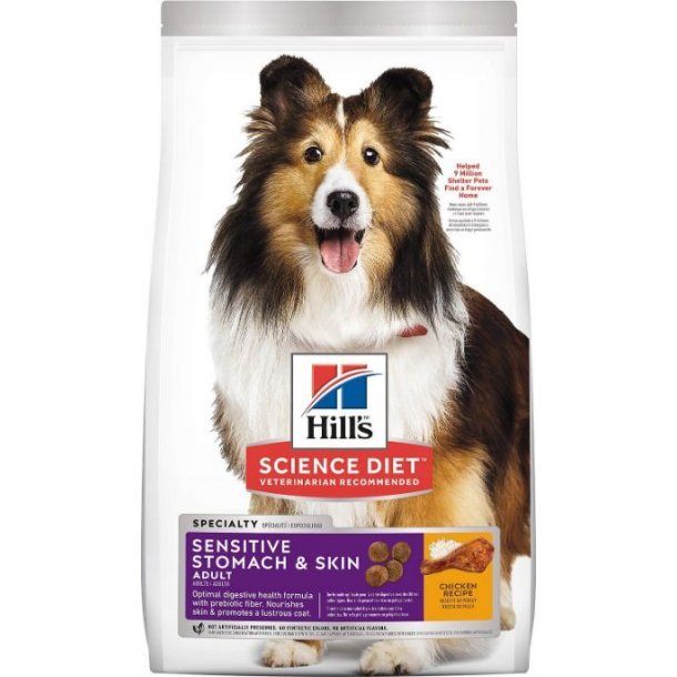 Hills Sensitive Stomach and Skin Medium 2,5kg