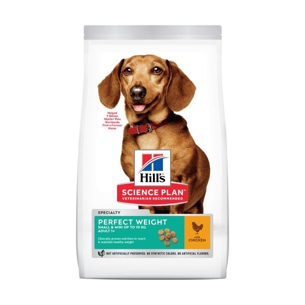 Hills Perfect weight Small & miniature 1,5kg