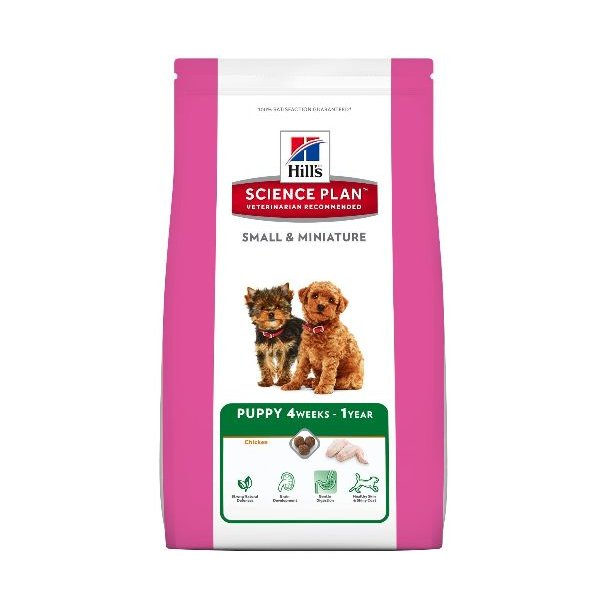 Hills Puppy Small & Mini Chicken 1,5kg