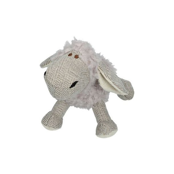 Wooly Luxury Sheep plysbamse grå