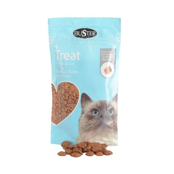 Buster Cat Treat Dental Bites, chicken