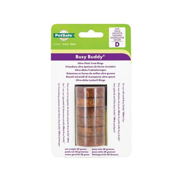 Busy Buddy Ultra Refill Rings - vegetar Small*