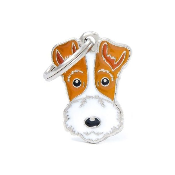 Hundetegn Friends Fox Terrier