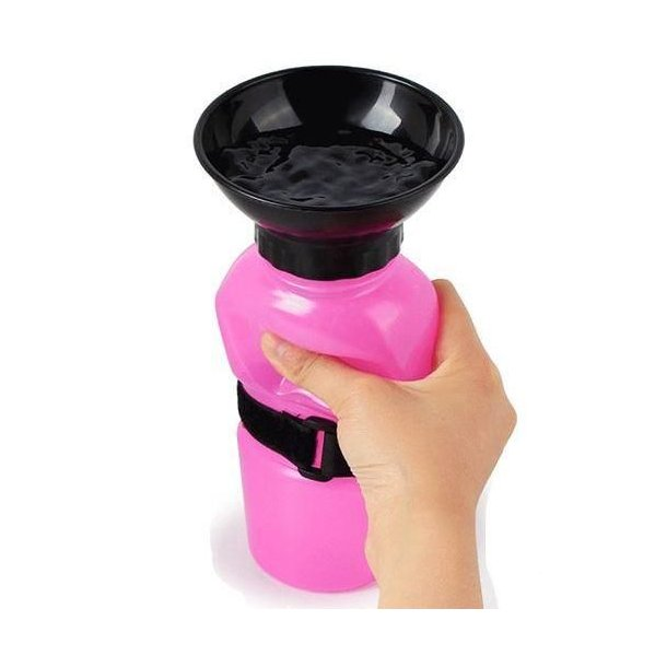 Squeeze Vandflaske - 500ml ass. farver