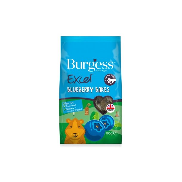 Burgess Excel Blueberry bakes