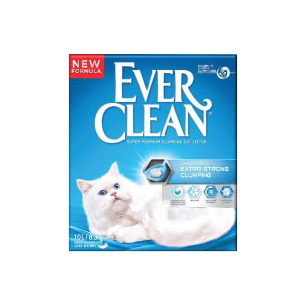 Ever Clean Extra Strenght Unsented 10L