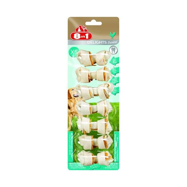 8in1 Delights Dental Bone chicken
