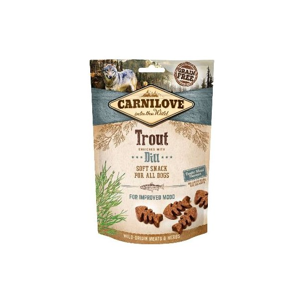 Carnilove Semi-Moist Trout snack 200g