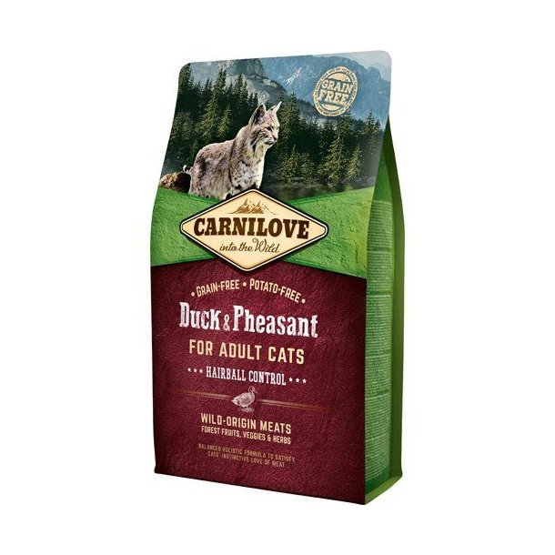 Carnilove Grainfree Cat Hairball Control And & Fasan 6kg