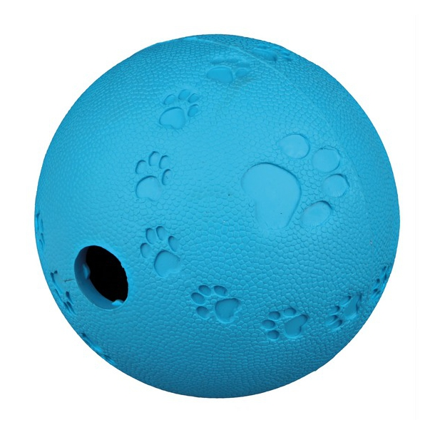 Dog Activity Snack ball, i gummi, Ø 7cm